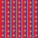 Stripes patterned wallpaper Royalty Free Stock Image