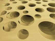 Stripes perforated plastic stackable Used as a background royalty free stock photography