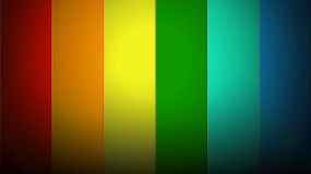 Stripes of the rainbow Royalty Free Stock Image