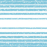 Stripes and splashes winter vector seamless pattern Stock Images