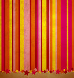 Stripes and stars colorful background Stock Images
