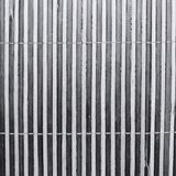 Stripes texture of a bamboo mat stock photography