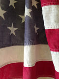 Stripes of USA flag Stock Photography