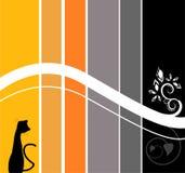 Stripes Wallpaper Design Stock Images