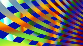 Stripes, widescreen. Colourful widescreen image of stripes Stock Illustration