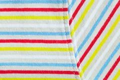 Stripey material Royaltyfria Foton