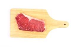 Striploin cru da carne Fotos de Stock Royalty Free