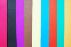 Stripped background made of multicolored paper Royalty Free Stock Photos