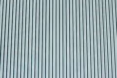Stripped blue metal wall royalty free stock images