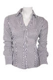 Stripped female blouse Royalty Free Stock Photo