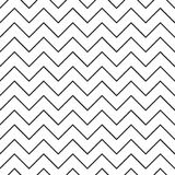 Stripped geometric seamless pattern Stock Image