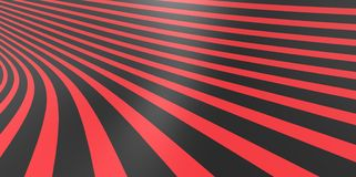 Stripped texture 3D background pattern in perspective Stock Photo