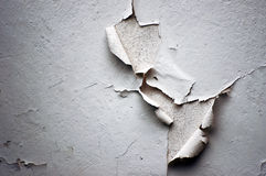 STRIPPED WHITE WALL Royalty Free Stock Image