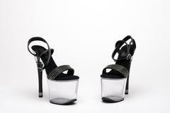 Stripper γοητεία παπουτσιών Στοκ Εικόνες