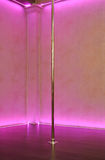 Stripper pole background Royalty Free Stock Photo