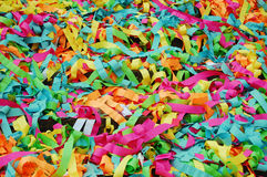 Strips of colored paper - nzareddi. Royalty Free Stock Image