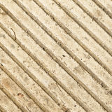 Strips on concrete Stock Images