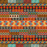 Strips motifs pattern Stock Image