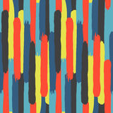 Strips of paint. Abstract colorful background. Stock Photography