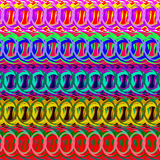 Strips of rings for decoration framework borders and background. Stock Photography