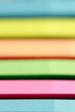 Strips of various colors stock photo