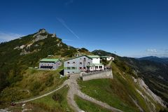 Stripsenjochaus, Zahmer Kaiser, le Tirol, Autriche Photos libres de droits