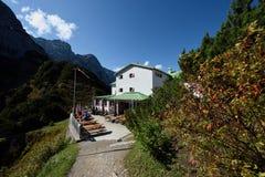 Stripsenjochaus, Zahmer Kaiser, Tirol, Австрия Стоковые Изображения