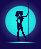 Striptease dance Stock Image
