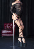 Striptease Royalty Free Stock Image
