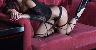Striptease Royalty Free Stock Images