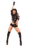 Striptease woman Stock Photo