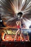 stripteasenummer Arkivbilder