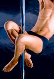 stripteasenummer för klubbadansarenatt Royaltyfri Fotografi