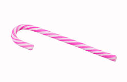 Stripy cukierek trzcina Obrazy Stock