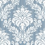 Stripy damask Stock Image