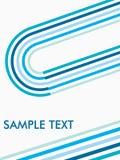 stripy glacial frais de fond Image stock