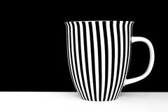 Stripy mug Royalty Free Stock Photography