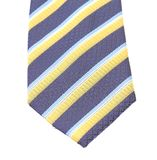 Stripy necktie close up. Royalty Free Stock Photography
