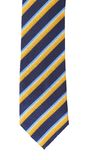 Stripy necktie Royalty Free Stock Image