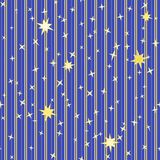 Stripy pattern with stars Royalty Free Stock Photo