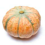 Stripy pumpkin Stock Photo