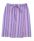 Stripy skirt Royalty Free Stock Photo