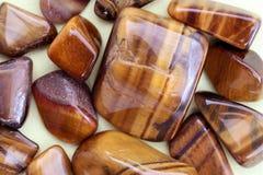 Stripy stones stock images