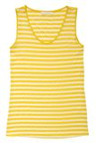 Stripy yellow  blouse Royalty Free Stock Photo