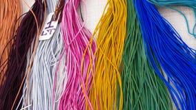 Strisce colorate di cuoio Fotografia Stock Libera da Diritti