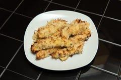 Pollo crostoso della noce di cocco Fotografia Stock Libera da Diritti