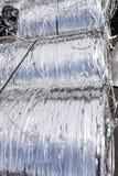 Strisce dell'alluminio da fondersi Immagini Stock