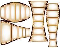 Strisce della pellicola illustrazione di stock