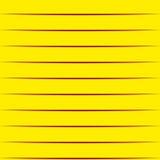 Strisce di carta gialle Fondo senza cuciture Fotografie Stock