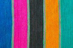Strisce di lana Fotografia Stock